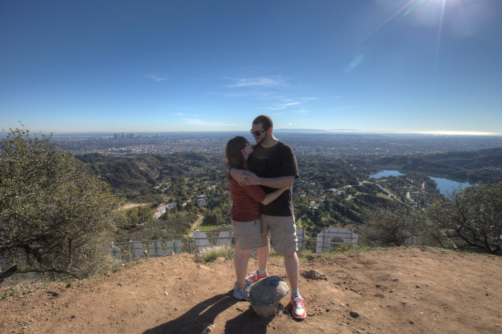 Penelope and Dave Atop Mt. Lee