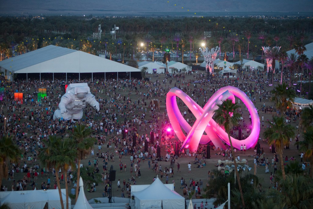 Escape Velocity and Light Weaver at Coachella