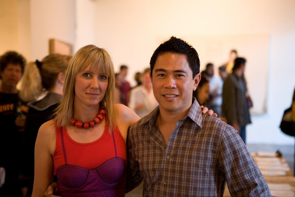 Karyl Newman and York Chang
