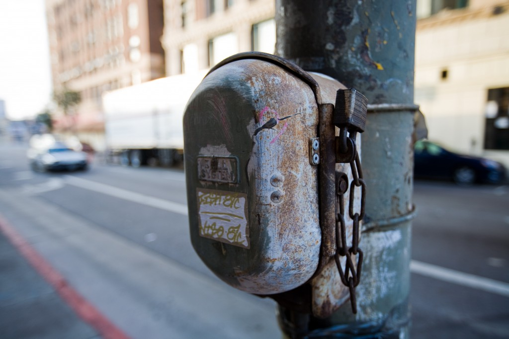 Locked Call Box