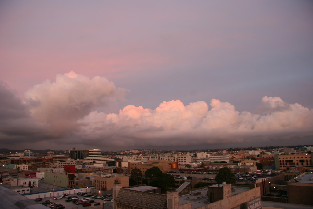 los angeles clouds